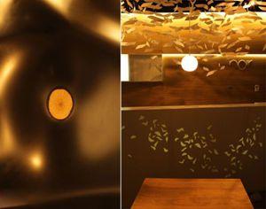 罗马尼亚诺瓦饭店室内设计的照明灯光应用