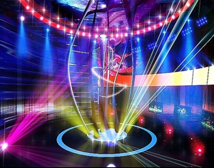 灯光效果营造不同的舞台气氛