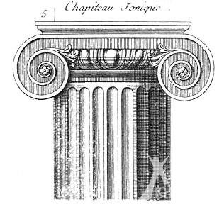 设计师网手机版 设计课堂 建筑设计    跟古希腊多立克柱式相似,突出图片
