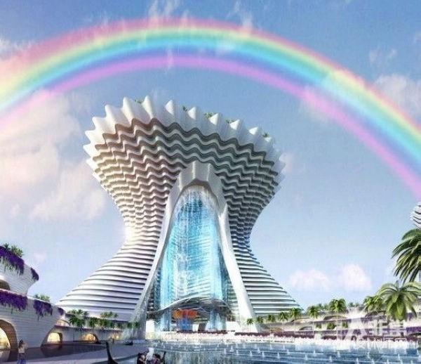 酷炫!未来中国建筑群!