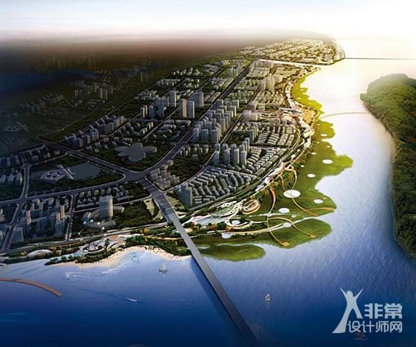 遂宁河东新区滨江景观带规划(五彩缤纷路)