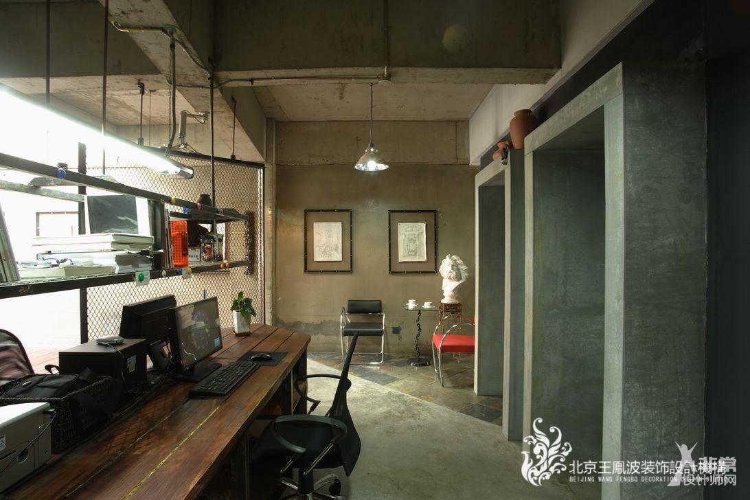 王凤波设计机构-办公室设计 呼市办公室