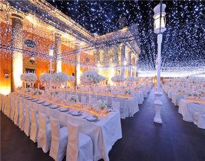 完美灯光效果诠释梦中的婚礼