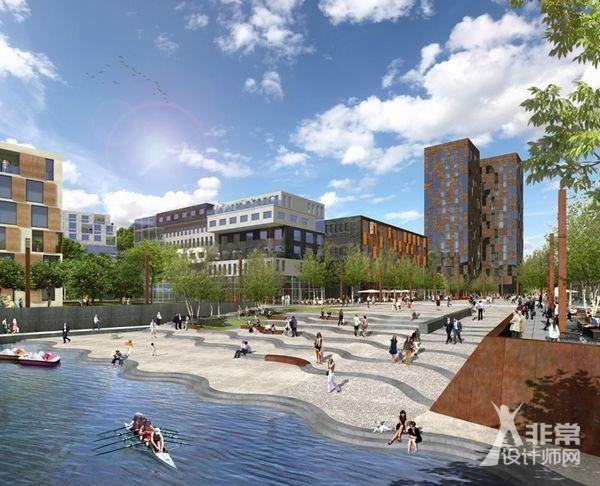 德国奥芬巴赫港口区域规划