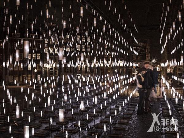 荷兰3D灯阵