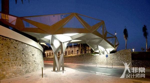 充满人文关怀的西班牙Motril步行桥