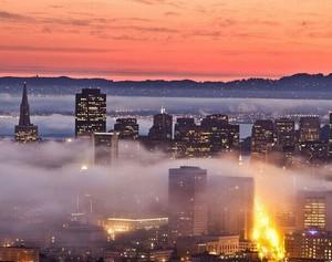 于朦胧中看城市 世界雾都大集锦