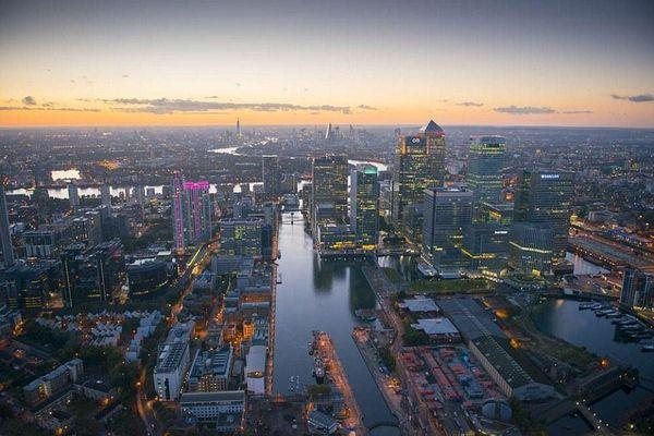 摄影师拍下的伦敦最美航拍图