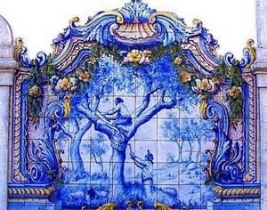 留白恐惧:葡萄牙的瓷砖彩绘