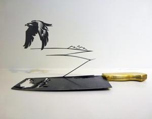 刀影 —— 硬金属雕刻