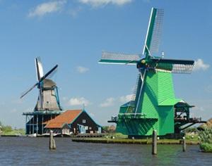 记录荷兰黄金时代的风车村