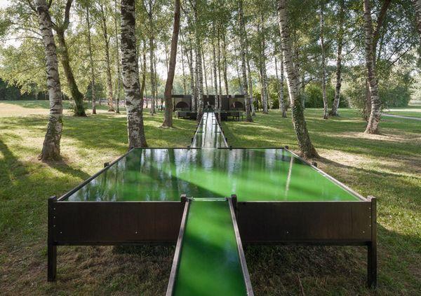 """日内瓦""""螺旋藻泉""""培育花园"""