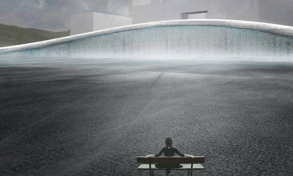 城市印象广场——山水雾境