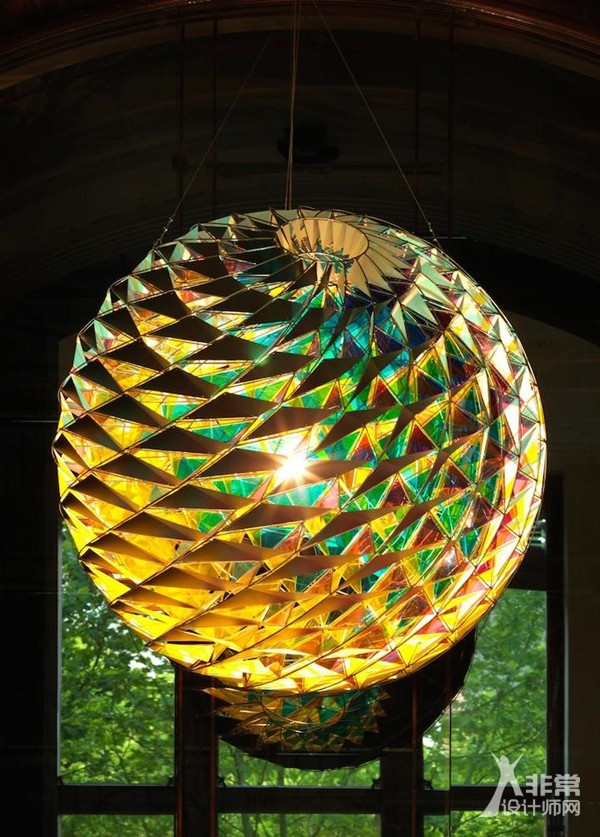 在灯光中迷醉 Olafur Eliasson灯光装置艺术