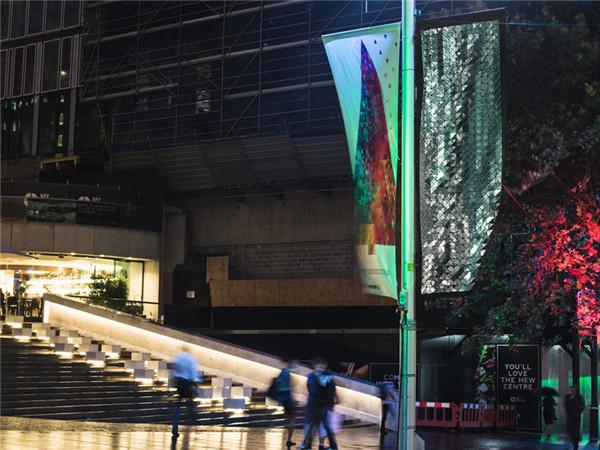 迪斯科路灯 利用反射光学效应点亮悉尼