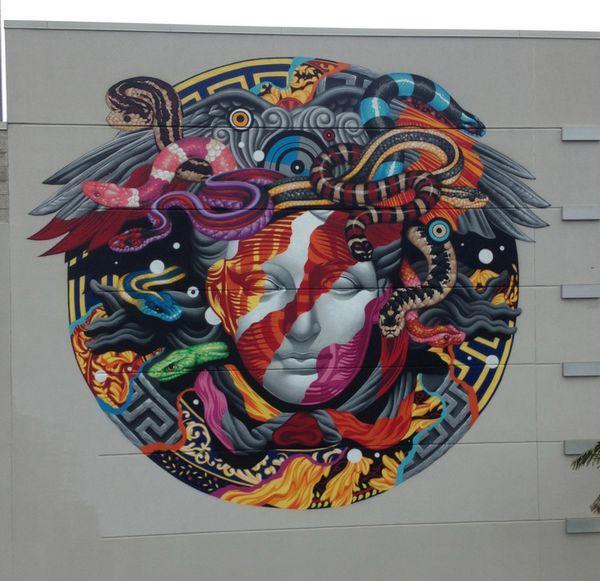 Tristan Eaton街头壁画艺术欣赏