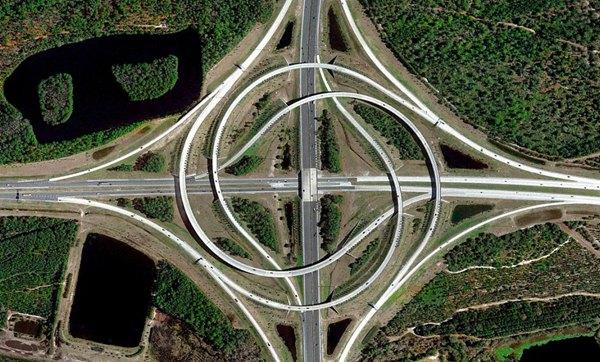 俯瞰世界 卫星图像展示地球神奇景观