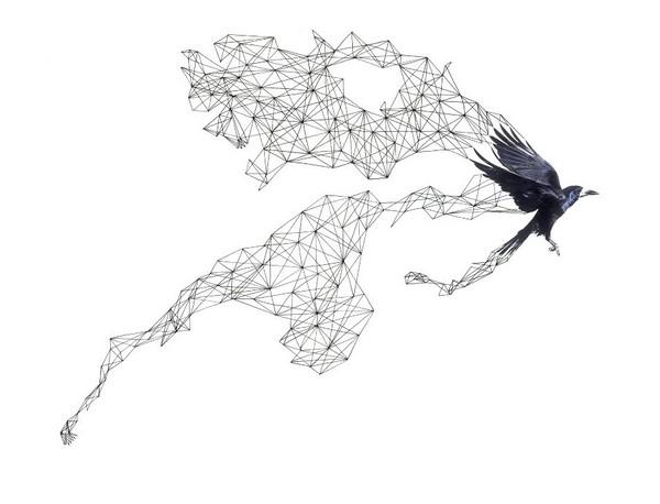 充满几何张力的设计 二维与三维的结合