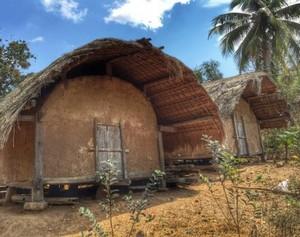 海南:即将消失的船形茅草屋村落