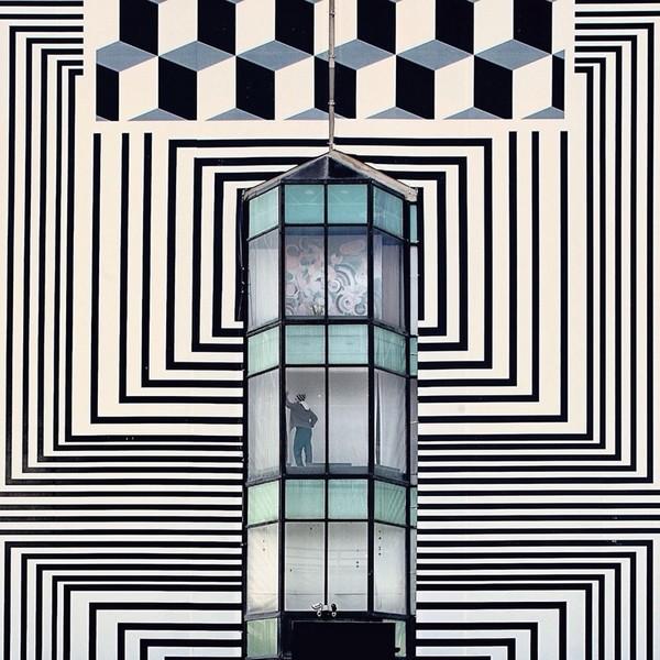 Serge Najjar:抽象还是现实?当人进入混凝土建筑