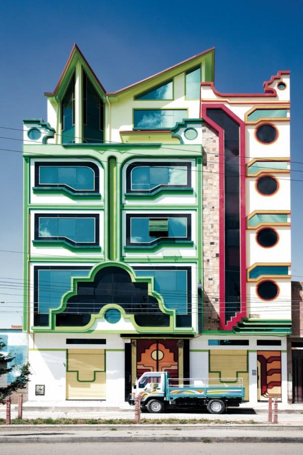 让人疯狂的玻利维亚几何建筑