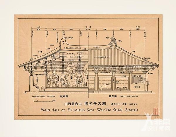 文物级别的大书:梁思成《图像中国建筑史》手绘图
