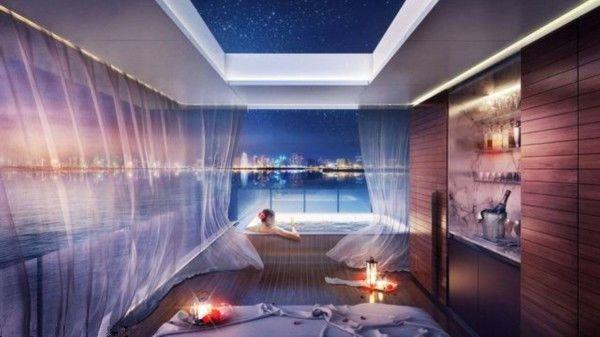 迪拜欲打造海中悬浮别墅 极尽创意与奢华