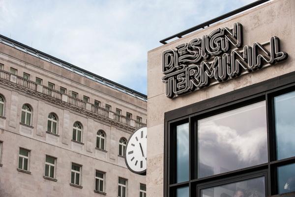 布达佩斯创意机构导视系统设计