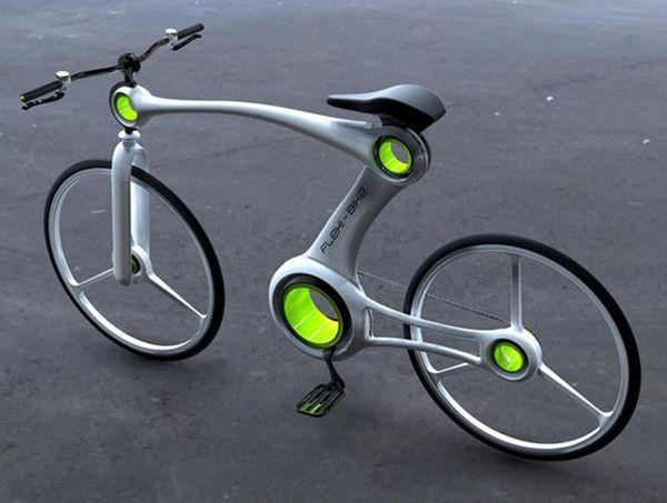一辆「骨骼清奇」的自行车