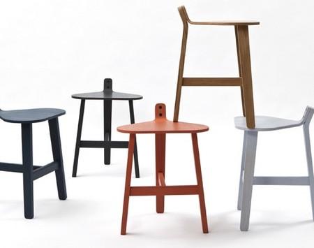 Guillaume Delvigne设计:Bronco坐凳