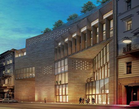 打造校园公共空间——布达佩斯中欧大学重建