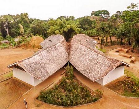 刚果以利马小学/MASS建筑设计事务所