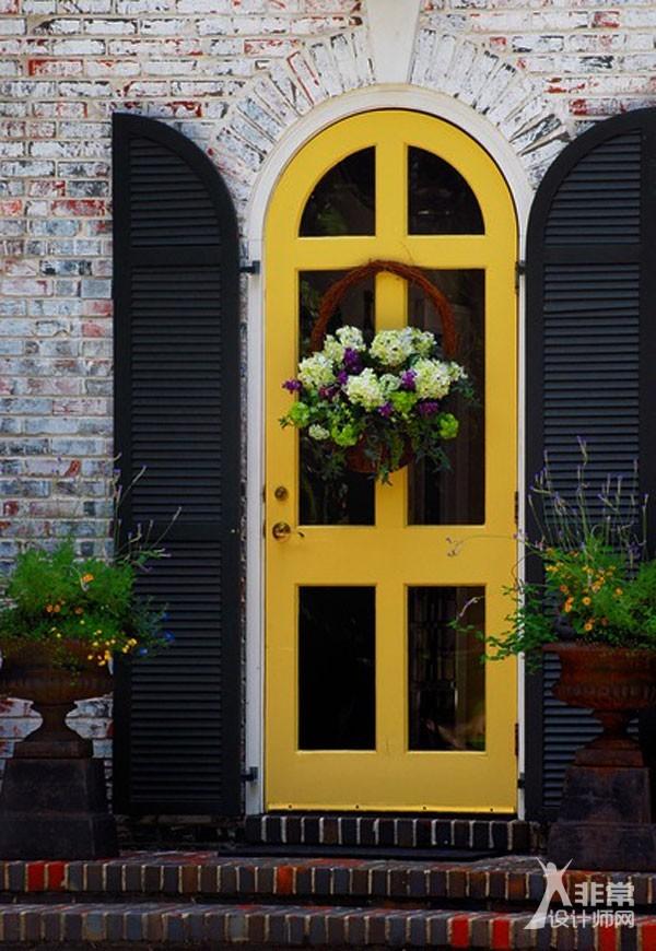 30个创意的房子前门设计