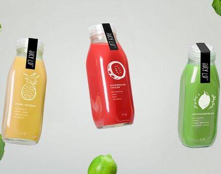 让果汁成为包装设计的一部分!/JucyLu有机蔬果
