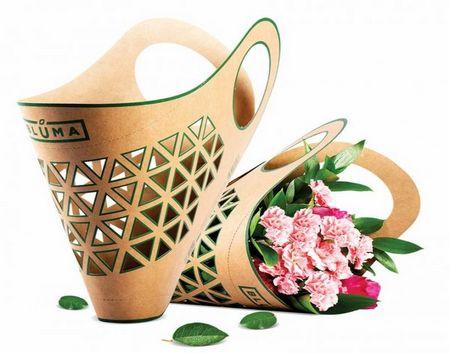 创意鲜花携带袋/Adam Groch设计