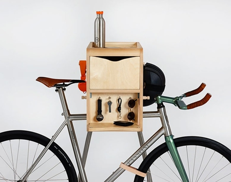 Vadolibero自行车架创意设计艺术