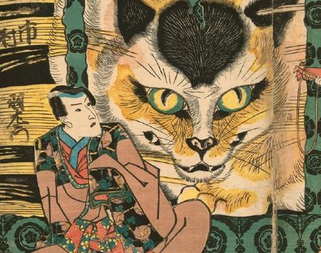 艺术穿越,浮世绘之猫