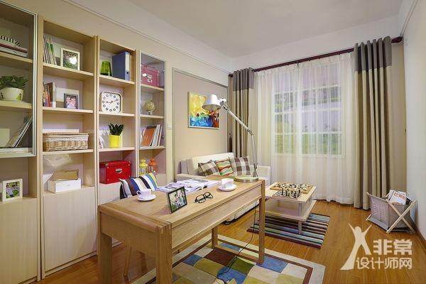 室内设计效果图-书房图片