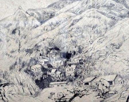 会呼吸的风景——李家骝的水墨写生