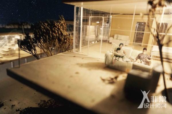 京郊民宿——山地居住建筑设计作品展示之行云阁