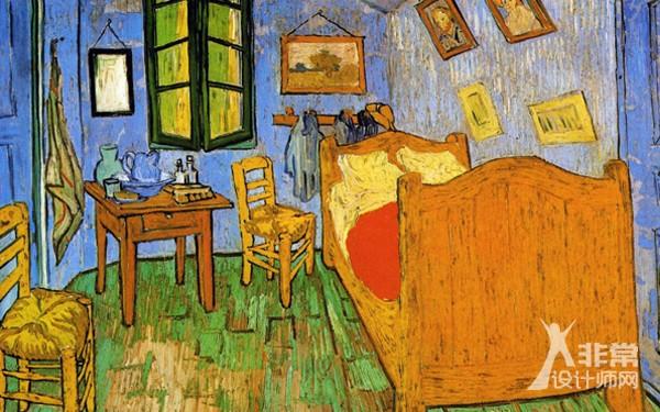 梵高在阿尔勒的卧室