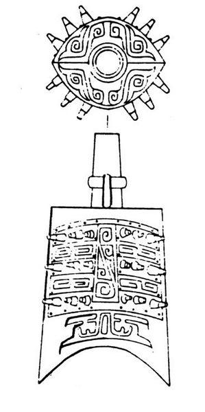 莲花纹是中国古代汉族传统纹饰之一.