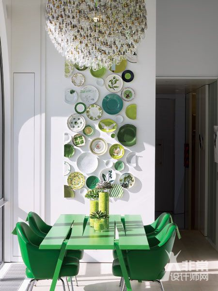 【设计分享】盘子装饰墙面 一堆案例来袭