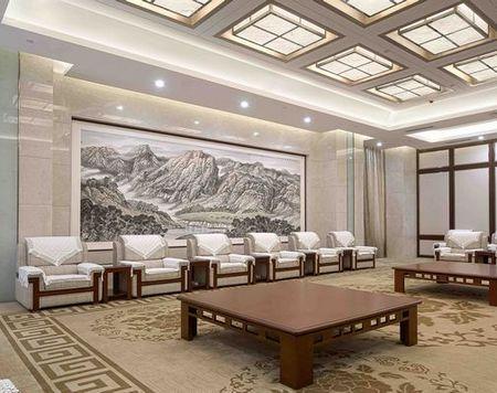 韩军作品:包头市机场航站楼贵宾区室内设计