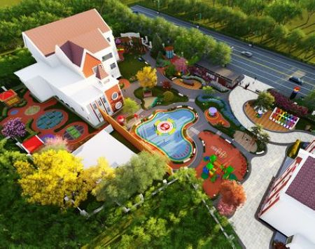 资深设计师张宝旺:一个专门为孩子设计的游乐场