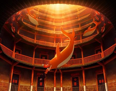 海报设计丨《大鱼海棠》的十二年之约