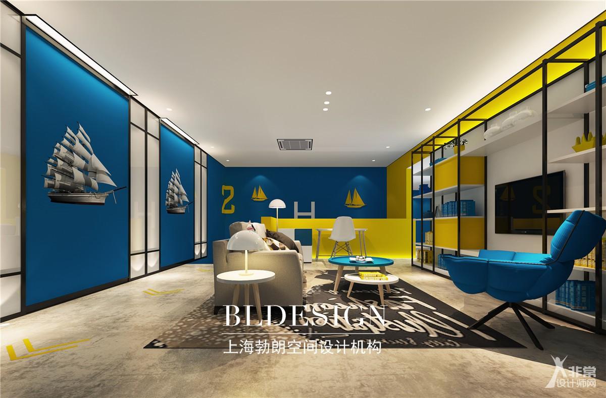 郑州小而精的酒店设计  哈泊港湾主题时尚酒店设计效果图