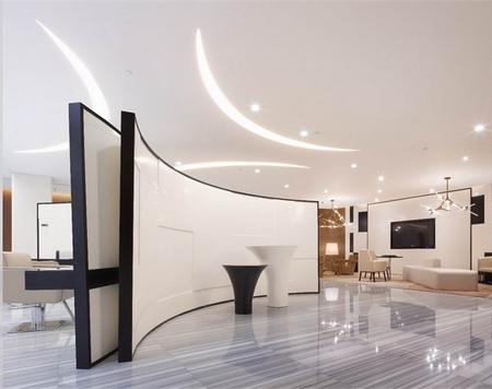 姜晓林:曲线切割 苏梵造型空间设计