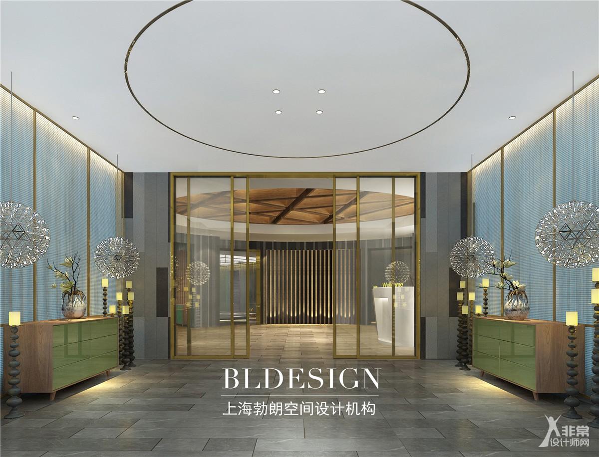沧州喜达尔精品酒店设计-上海勃朗专业精品酒店设计公司作品