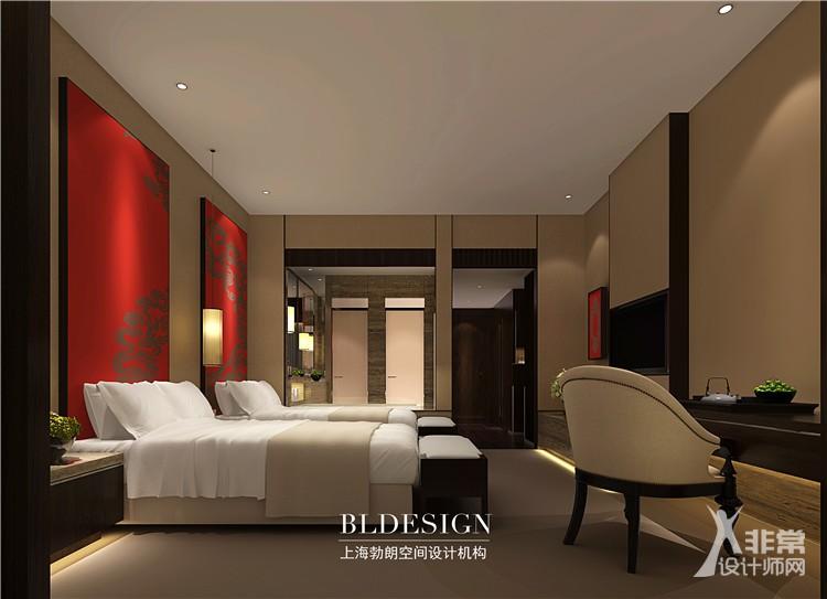 洛阳中式风格度假酒店设计案例——鹤栖银湖度假酒店
